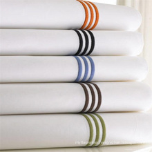 100%Cotton Machine Embroidery Design Bed Sheets