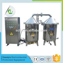 Antigos equipamentos de destilação de água salobra