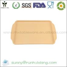 Экологичный и биоразлагаемый поддон для пищевых продуктов из бамбука