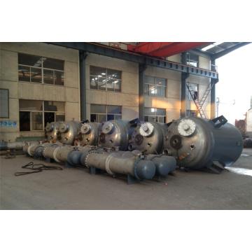 Tubular heat exchanger and Jacket reaction kettle