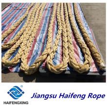 Certificación de la calidad de la cuerda de UHMWPE de 3 filas El precio mezclado de la hornada es preferencial