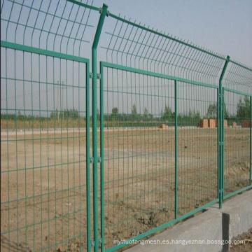 Construcción de malla de alambre soldado