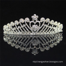 2017 Wholesale Princess Gold Crystal Crown