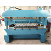 CE standard double layer trapezoidal sheet roll forming machine