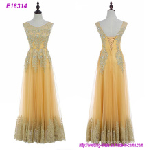 Wholesale Xiamen Woman Elegent Long Hand-Made Sexy Evening Dresses