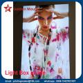 Custom Wall Mounted LED Light Box with Printing