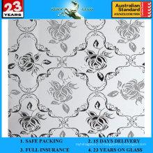 3-6мм АМ-66 декоративное Кисловочное Травленое матовое художественного архитектурного зеркало
