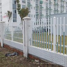 diseño soldado de la fábrica de la construcción del panel de la cerca de aluminio decorativo