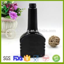 Bouteille en plastique industrielle à huile de nouvelle conception de 12 oz avec bouchon à vis