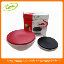 2014 new 2pcs set plastic food container(RMB)