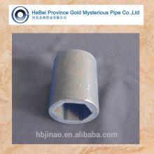 Tubo de acero sin costura en frío / laminado en frío que fabrica piezas de máquinas