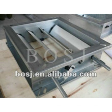 Steel Vane Damper Frame Roll Forming Machine Oman