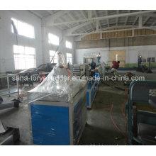 Linha de alta qualidade da extrusora do perfil do PVC WPC da máquina