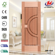 Natural Sapeli HDF Door Panel