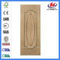 *JHK-000 Sliding Door Interior Half Doors Flat Wood Door Oak Veneer Door Skin