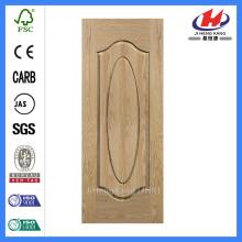 * JHK-000 Puerta corredera Interior Puertas de madera Puerta de madera plana Puerta de chapa de madera Puerta