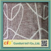Tissus de motif géométrique Couleurs personnalisées pour la housse de siège d'auto de bus de canapé