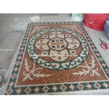 Мозаика Мозаика Мраморный камень Мозаика напольная плитка (ST132)