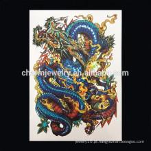 OEM atacado dragão braço tatuagem tatuagem tribal personalizar braço tatuagem tribal W-1022