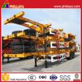 2 Achsen Skeleton-Typ Containeranhänger Chassis