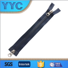 Plastic Zipper Two Way Open with Basic Slider Standard