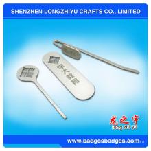 Marcador de metal marcador de regalo Marcador de clip con banda