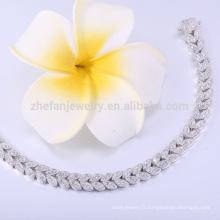 Vente chaude indonesia bijoux en argent vitalité bracelet