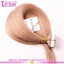 Cheap fita brasileira em extensões de cabelo atacado extensões de cabelo fita 100% cabelo humano
