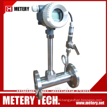 Little pressure loss Vortex Flow meter Metery Tech.China