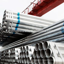 Galvanized welded steel pipes factory in Tianjin