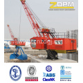 Grúa hidráulica fija de la Marina/puerto/muelle/buque para venta surtidor de China