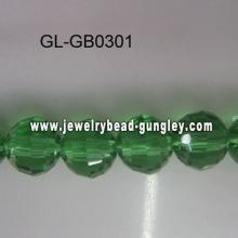 Grânulos de vidro de cristal atacado 96 facetas