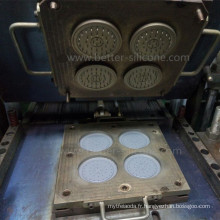 Outil de moulage en caoutchouc de silicone pour des becs de pomme de douche