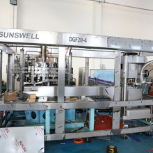 filling screwing 3 in1 monoblock can production line