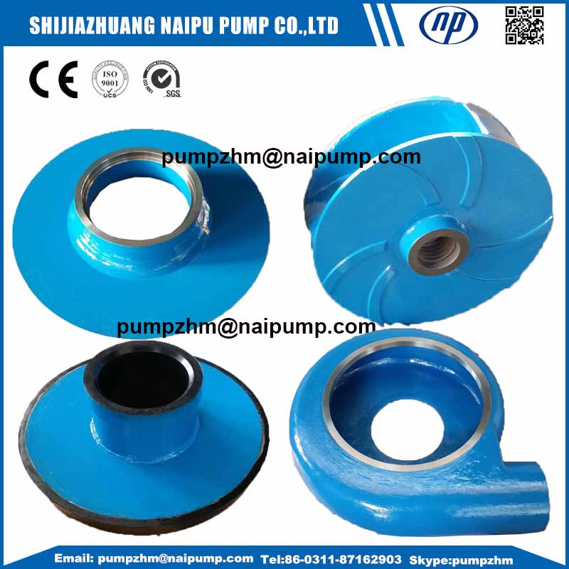005 AH slurry pump wet end parts