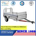 bon marché petites remorques de cargaison d'utilité en aluminium de 7ftx4ft à vendre