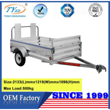 cheap 7ftx4ft small aluminium utility cargo trailers for sale