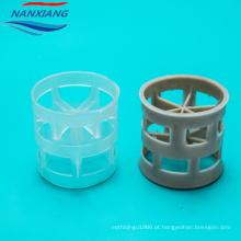 Polypropylene PP PE RPP PVC CPVC PTFE PVDF Plastic Packing Pall Ring