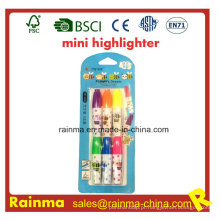 Fancy Mini Highlighter Pen para Promoção
