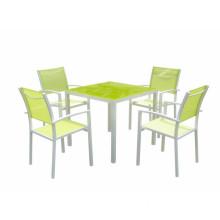5pc alu garden dining set