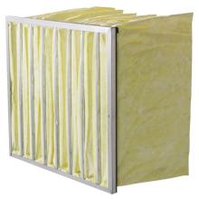 Filtro de mangas de fibra de vidro de efeito médio