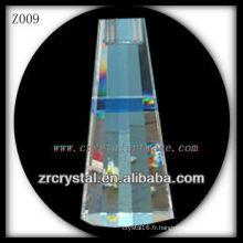 Bougeoir en cristal populaire Z009