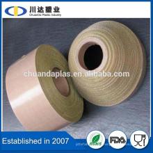 Einfach zu bedienen Hitzebeständige Isolierung Selbstklebendes PTFE Teflon Beschichtetes Fiberglasband