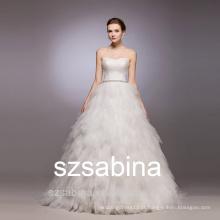 WD10020 trajes de casamento vestido de noiva vestido de noiva 2016