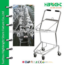 store basket trolley