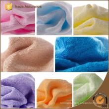 Hilados de color sólido teñidos bordados Dobby bambú toallas de cara Toallita de bambú bebé, bambú orgánico toalla limpia