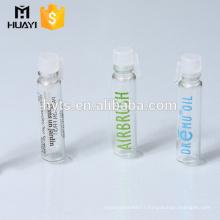 1ml 2ml perfume small glass tube bottle