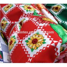 Poliéster mini matt / pano de mesa / tecido uniforme