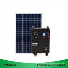 Instalação fácil fora do gerador da casa do sistema de energia das energias solares da grade