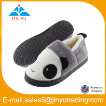cute pomeranian dog plush indoor room slippers